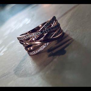 PANDORA Rose Ring Entwined